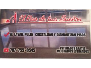 Mayagüez Puerto Rico Apartamento, PULIDO DE PISOS