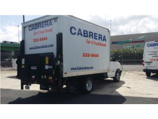 ALQUILER CAMION CON LIFTER