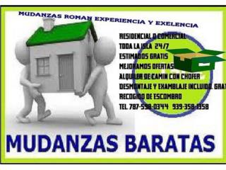 Mudanzas 787-598-0344 alquiler de cami�n