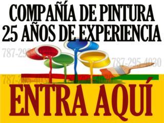 PINTURA (Compa��a de Servicio de pintura) Real Estate Puerto Rico