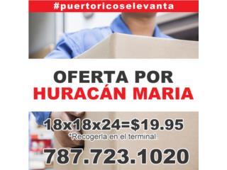 OFERTA DE MUDANZA POR HURACAN MARIA