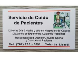 Cuido de pacientes en hopitales
