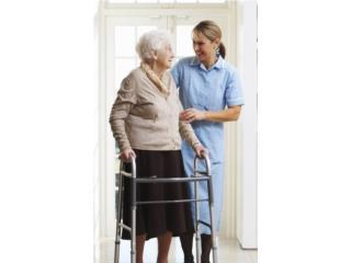 Cuido a Pacientes, en hogar o hosp.