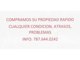 COMPRO CASAS CASH RAPIDO
