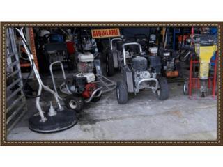 Alquiler de equipos livianos de construcción