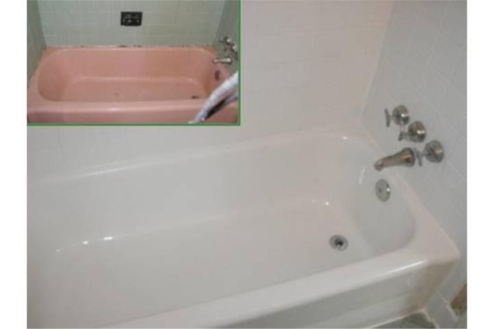 Reparacion y restauracion de ba eras puerto rico bathtub for Reparacion de baneras