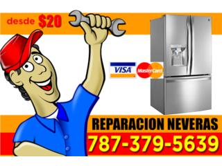 Clasificados Puerto Rico REPARACION NEVERAS SERVICIO RUSH!!!!