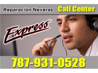 CALL CENTER - REPARACION NEVERAS EXPRESS