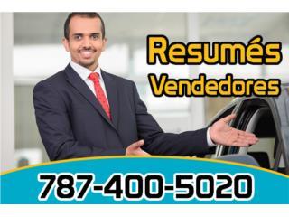 Resumés para trabajos fuera de PR Clasificados Online  Puerto Rico