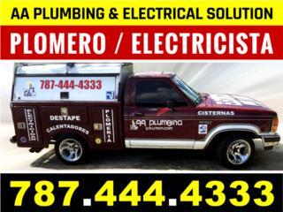 Plomero / Electricista / Cisternas / Calentadores