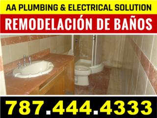 Remodelacion de Baño  787-444-4333