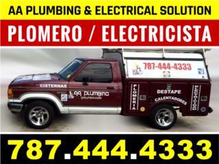 Clasificados Puerto Rico Remodelacion de Baño o Plomero 787-444-4333
