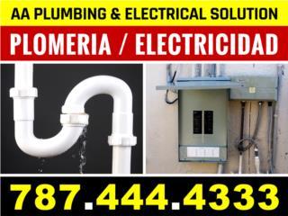 Plomeria / Electricidad / Handyman  787-444-4333