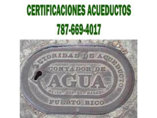San Juan-Condado-Miramar Puerto Rico Apartamento, Maestro Plomero Certificaciones Acueductos