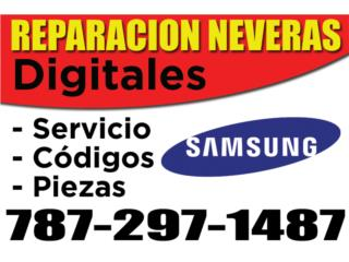 Caguas Puerto Rico Hospedajes, REPARACION NEVERAS SAMSUNG
