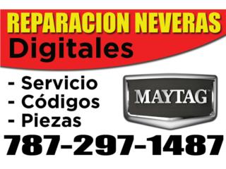REPARACION NEVERAS MAYTAG