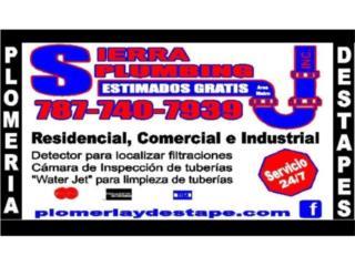 San Juan-Condado-Miramar Puerto Rico Apartamento, Sierra Plumbing