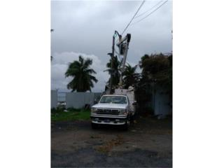 Electricpropr Aquiler Bucket Truck 787-550-2427