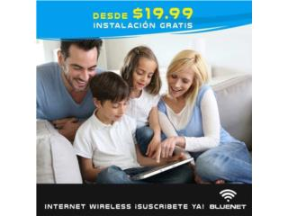 INTERNET WIRELESS DESDE $19.99
