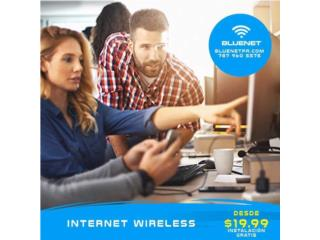 INTERNET WIRELESS RAPIDO DESDE $19.99
