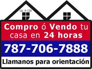 Aguadilla Puerto Rico Casa, Compro o Vendo tu Propiedad en 24 HORAS