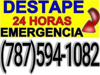 DESTAPE DE EMERGENCIA 24/7 Real Estate Puerto Rico