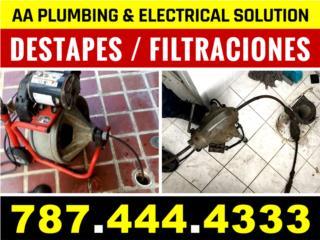 Destape / Deteccion / Filtracion 787-444-4333
