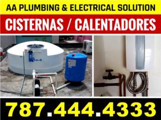 Cisternas y Calentadores de Agua/Tanque/Linea
