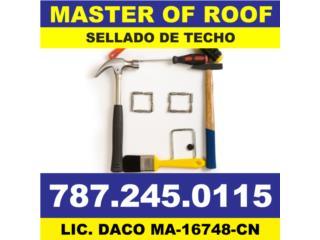 Cataño Puerto Rico Equipo Comercial, SELLADO DE TECHO Y REMODELACION