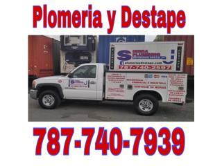 Salinas Puerto Rico Casa, Plomeria / Destape / Remodelación de baños
