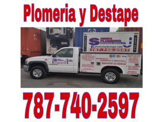 Plomeria y Destape Real Estate Puerto Rico Bienes Raices