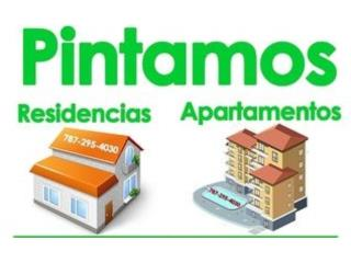 Pintura Exterior e Interior Casa y Comercio Real Estate Puerto Rico
