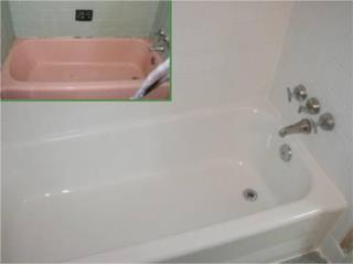 Vega Baja Puerto Rico Casa, Restauracion de bañeras sin remover