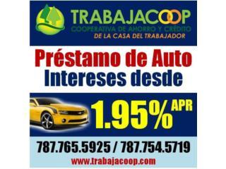 PRÉSTAMOS DE AUTOS DESDE 1.95% 787-765-5925