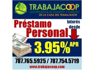 PRÉSTAMO DE 10,000 DESDE 3.95% 787 765-5925