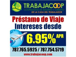PRÉSTAMOS DE VIAJE DESDE 6.95% 787 765-5925