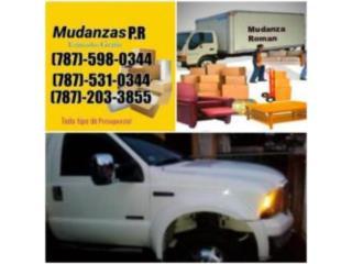 Mudanzas Grande y Pequeña 787-598-0344/531-0344