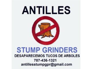 REMOVEMOS TUCOS!!! TREE STUMP GRINDERS