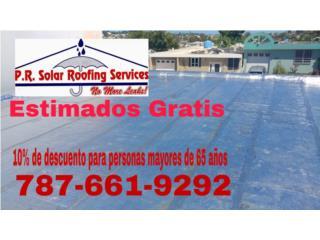 San Juan Puerto Rico Techos Aluminio o Galvanizados, Impermeabilización de Techos