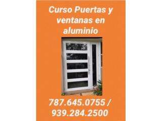 Curso de puertas y ventanas en aluminio Clasificados Online  Puerto Rico