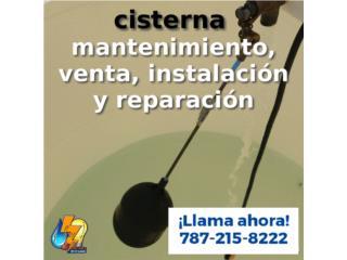 Cataño Puerto Rico Sistemas de Seguridad - Industrial, Cisterna, tanque, motor, presurizador.