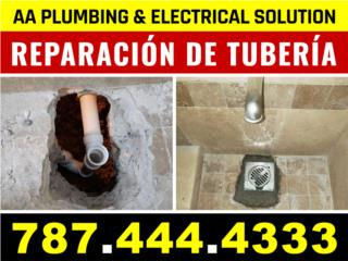 San Juan-Condado-Miramar Puerto Rico Apartamento, Reparacion de Tuberias Sanitarias