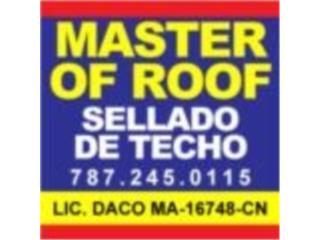 Dorado Puerto Rico Deportivos Marino, SELLADO DE TECHO