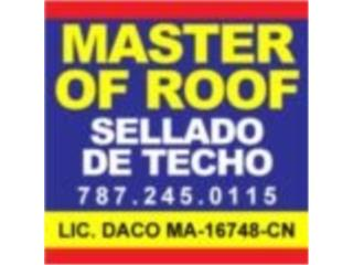 San Juan-Condado-Miramar Puerto Rico Plantas Electricas, SELLADO DE TECHO