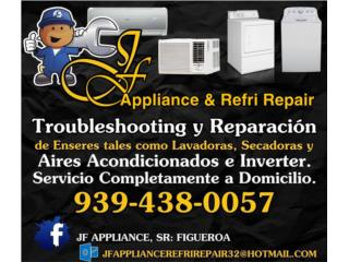 Bayamón Puerto Rico Calentadores de Agua, Reparación de lavadoras y secadoras  [ANALOGAS]