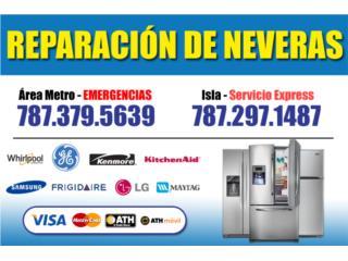 GRATIS ESTIMADOS/EXPERTOS EN NEVERAS/7876046296 Clasificados Online  Puerto Rico