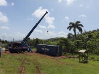 Boom Truck - Instalación de Vagones