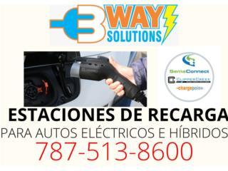 San Juan - Río Piedras Puerto Rico Plantas Electricas, Estación de Recarga Autos Eléctricos e Híbridos
