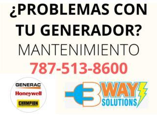 Bayamón Puerto Rico COVID-19 Mascarillas, Mantenimiento Plantas Eléctricas