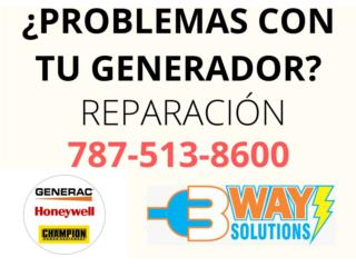 Naranjito Puerto Rico Plantas Electricas, Reparación Plantas Eléctricas